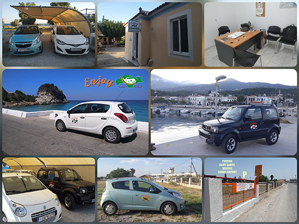 enjoy samos rentals home kiosk